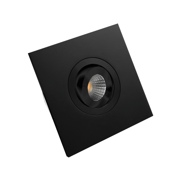 Monza vierkant zwart